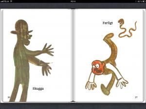 Lillans Bilderbok – Ivar Arosenius. Fast layout med uppläsning. Digitalisering av tryckt bok.