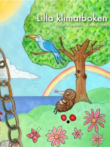 Lilla Klimatboken är vårt första samarbete med Niclas Malmberg och hans företag, som man hittar påqrumelur.se. Boken har fast layout, vackra bilder av Alina Ögger och lär yngre om klimatfrågan på ett lättsamt sätt. Den finns både i snygg iPad-version på iBookstore, och lite enklare version till fler enheter hos svenska återförsäljare och bibliotek. iBooks Titeln på Libris